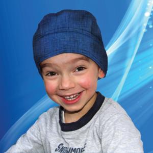 Aqua Coolkeeper Cooling Bandana Kids Pacific Blue