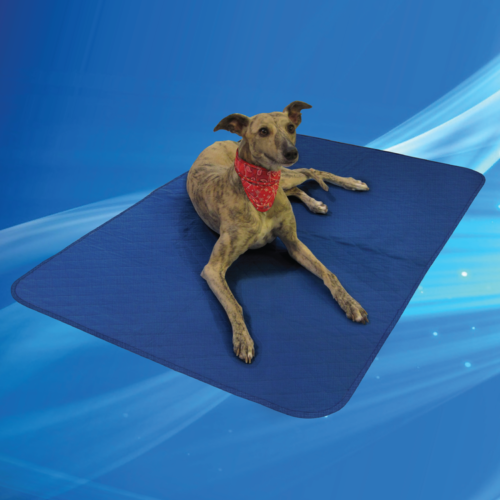 Aqua Coolkeeper Cooling Pet Pad/Blanket Pacific Blue