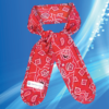 Aqua Coolkeeper Cooling Necktie Red Western