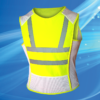 Aqua Coolkeeper Cooling Sportvest Neon Yellow and Reflective Strip