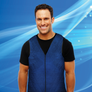 Aqua Coolkeeper Cooling Vest Pacific Blue