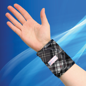 Aqua Coolkeeper Cooling Wristband Scottish Grey
