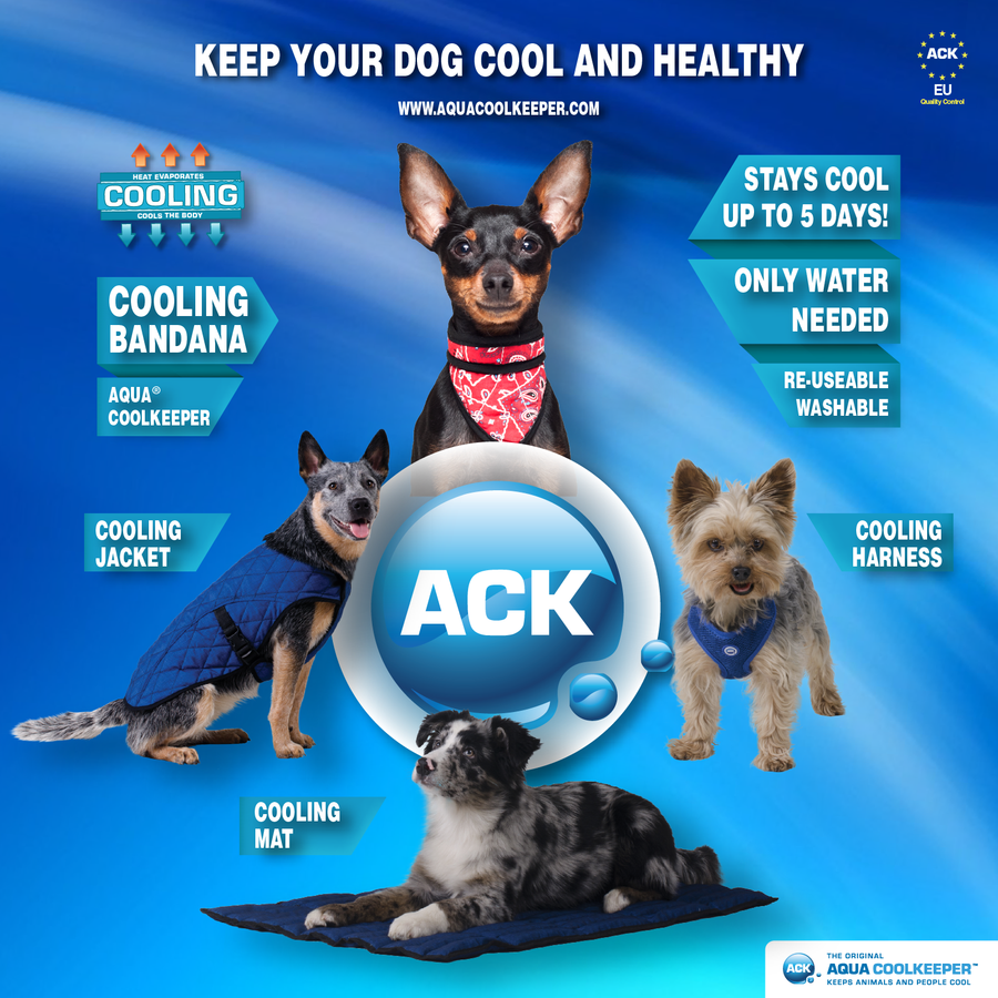 Aqua Coolkeeper cooling product for pets